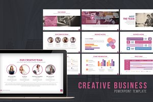 Creative Business Powerpoint Templat