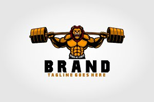 Lion Fitness Logo