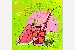 Watermelon Lemon Smoothie