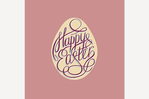 Easter Lettering