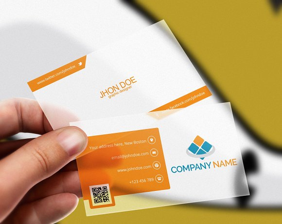 Corporate Business Card V6 Business Card Templates Creative Market