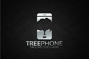 Tree Phone Logo