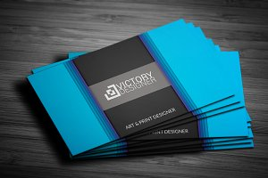3D Corporate Business Card v.12