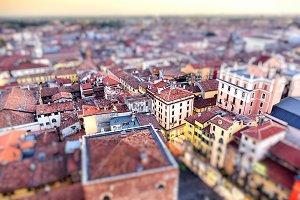 Verona, with Tilt-Shift effect