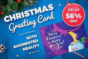 Christmas Augmented Reality card