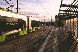 Tram Mock-up