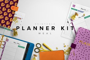 Meal Planner Kit - A5, A4 & Letter
