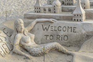 Sand Scuplture Rio de Janeiro