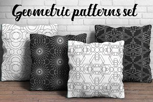 Complex Geometry Pattern Set