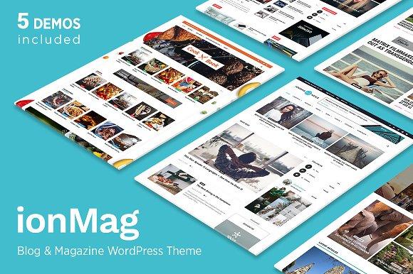 ionMag ~ WordPress Magazine Themes on Creative Market