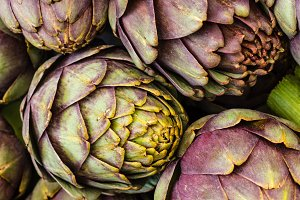 Artichokes at the market 3