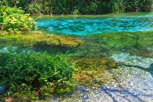 Blue Eye (water spring), Albania.