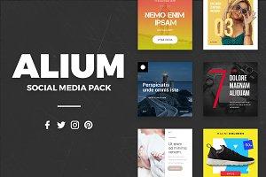ALIUM | Social Media Pack
