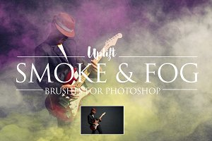 Smoke & Fog Brushes for Photoshop