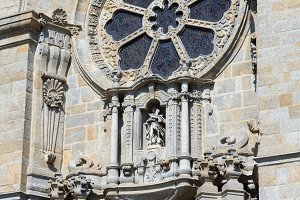 Porto Cathedral details, Potugal.
