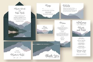 Simple Landscape Wedding Suite