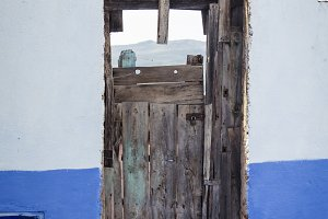 Door in Chaouen, Morocco