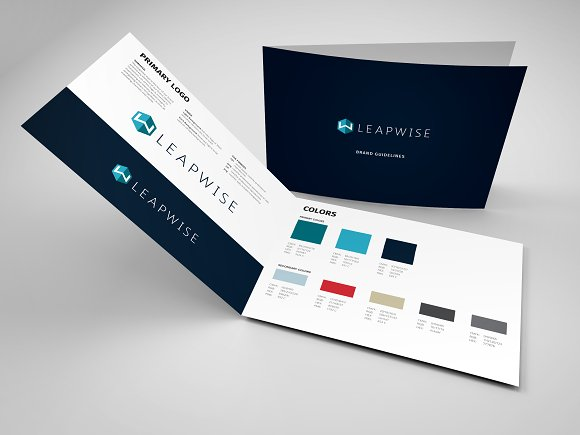 basic brand style guide template templates creative market