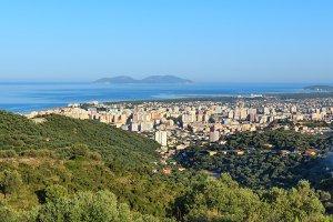 Vrore town (Albania).