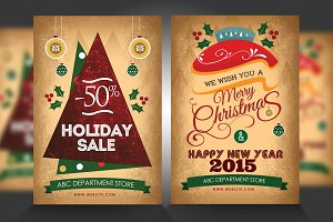 New Year / Christmas Flyers