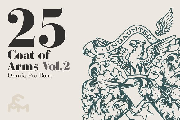25 Coat Of Arms - Vol.2 - Illustrations