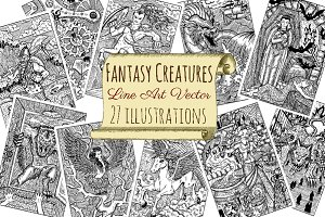 Fantasy Creatures collection