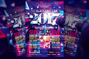 New Years Eve V4 Flyer Template