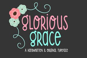 Glorious Grace-Handwritten Font