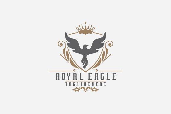 royal brand logo v4 logo templates creative market. Black Bedroom Furniture Sets. Home Design Ideas