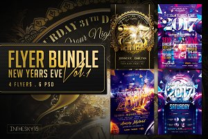 New Year Flyer Bundle Vol.1