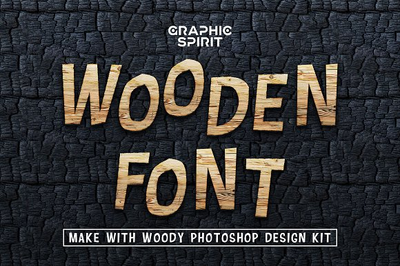 Wooden Font Promo Extended -Graphicriver中文最全的素材分享平台
