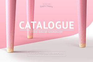 Catalogue Item Drop Shadow