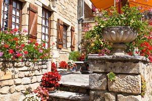 House porch in Southern France