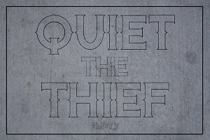 Quiet the Thief - Empty