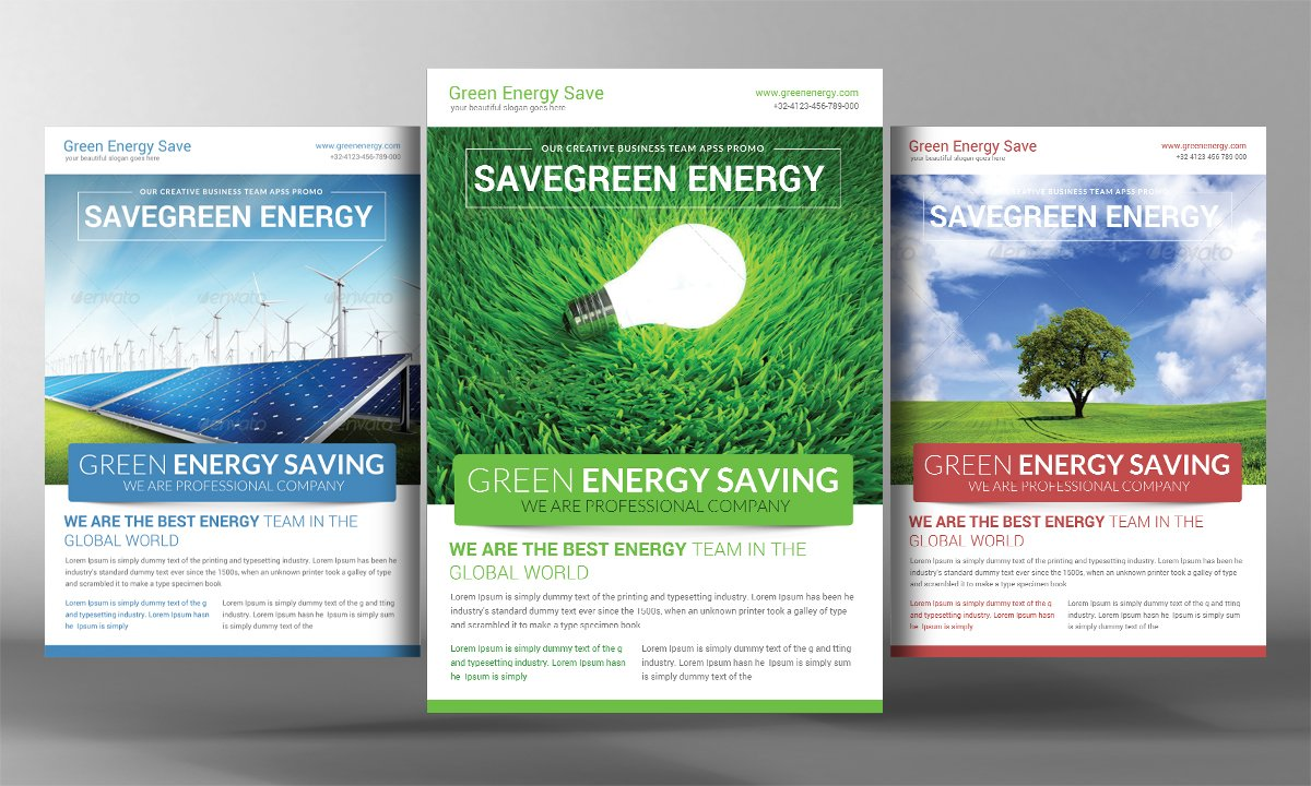 health fair flyer and poster flyer templates on creative market green energy flyer template
