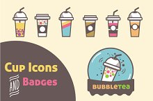 Cup Icons and Badges