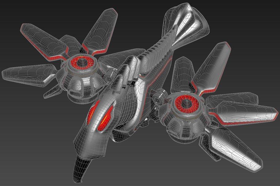 Robot Bird ~ 3D Animal Models ~ Creative Market