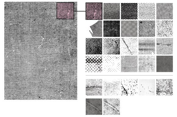 20 Beaten Halftone Textures in Textures - product preview 3