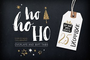 Christmas overlays and tags