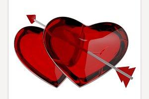 Heart, 3D rendering
