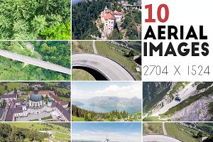 10 Aerial Images [High Resolution]