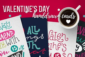 Valentine's Day greeting cards+bonus