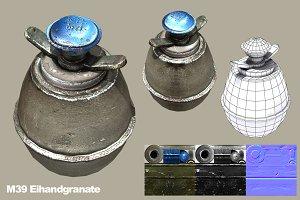 M39 Eihandgranate Egg Hand Grenade