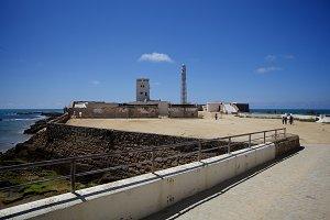 Cádiz – Castillo de San Sebastián