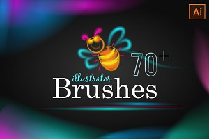 70+ Soft stroke Brushes