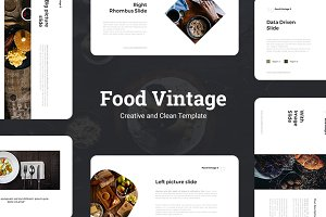 Food Vintage Presentation Template
