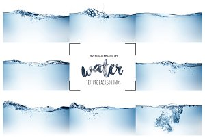 Water Clean Wave Backgrounds