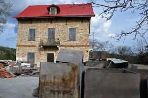 Derelict Stone House