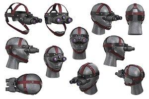 Night vision device set