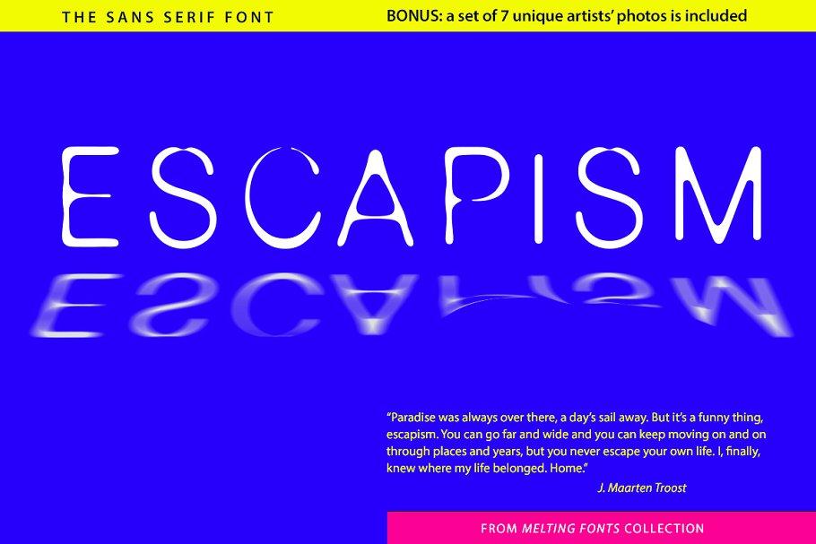 Escapism Sans Serif Font